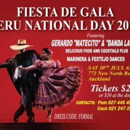 Gala Night! Peru National Day Fiesta