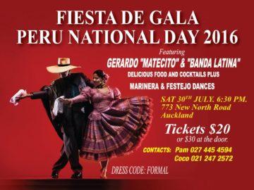 Gala Night! Peru National Day Fiesta