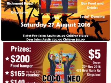 Free Salsa & Bachata Class at the Latin Fiesta Fundraising Event