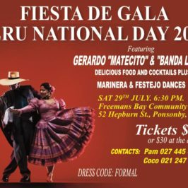 Fiesta de Gala : Peru National Day 2017