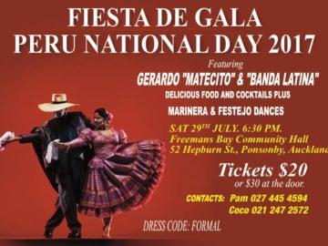 Fiesta de Gala : Peru National Day 2017