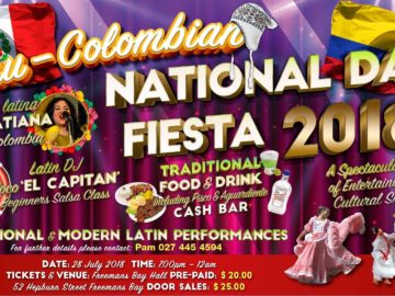 PERU / COLOMBIAN NATIONAL DAY FIESTA 2018